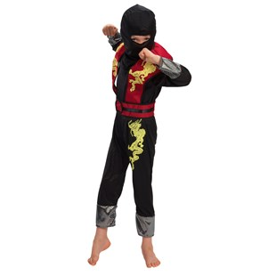 Dragon Red Ninja Costume Medium