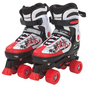 Blindside Quad Skate 4-7 (UK) Red/White