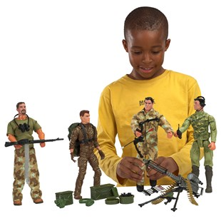 Action Assault Team 4 Figure Pack