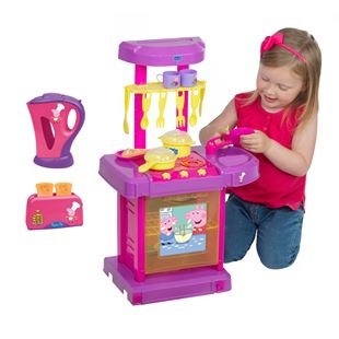 Peppa Pig Cook & Go Kitchen with Kettle