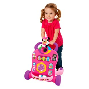 Disney Spinning Lights Minnie Mouse Musical Walker