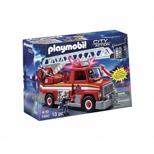 Playmobil Rescue Ladder Truck 5980