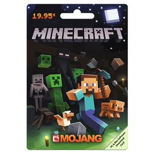 Minecraft PC €19.95 POSA Card