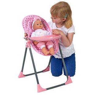 4-in-1 Doll High Chair set