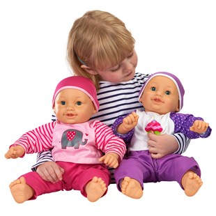 Large Cuddly Baby Doll Assorted