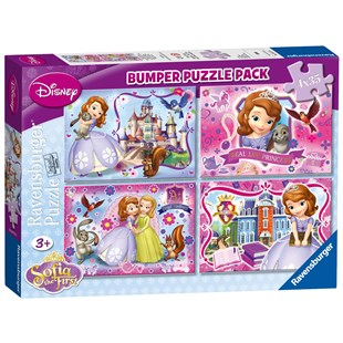 Sofia the First Bumper Puzzle Pack