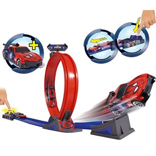 Spiderman Loop and Jump Track Set