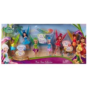 Disney Fairies 11.5cm Pixe Gem Collection 6 Pack