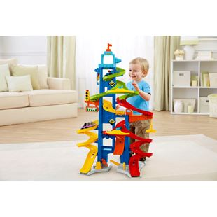 Fisher Price Little People City Skyway Car Garage