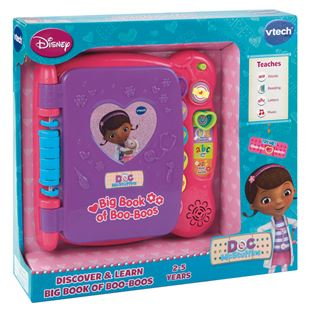 Disney Doc McStuffins Discover & Learn Big Book of Boo Boos