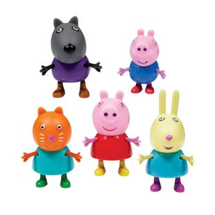 Peppa Pig 5 Figure Pack