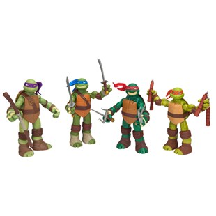 Turtles Battle Shell 4 Pack