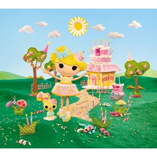 Lalaloopsy Large Doll Candle Slice O' Cake