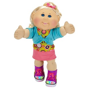 Cabbage Patch Kids Girl Blonde Hair Twinkle Toes