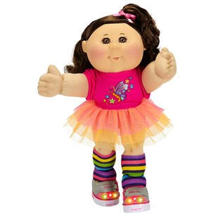 Cabbage Patch Kids Girl Brunette Hair Twinkle Toes