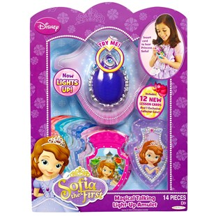 Sofia The First Magical Talking Light Up Amulet