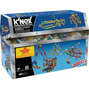 K'NEX 35 Model Ultimate Building Set 475 Pieces