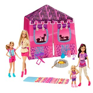 Barbie Sisters Safari Tent
