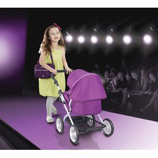 Silvercross Ranger Purple Pram