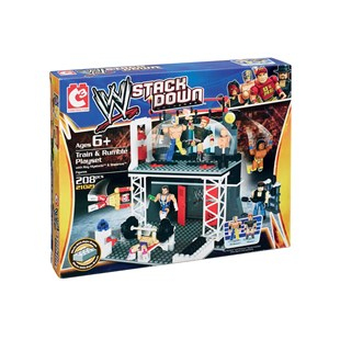 WWE Stackdown Train and Rumble Playset