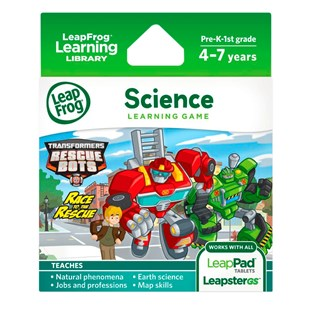 Leapfrog Transformers Rescue Bots