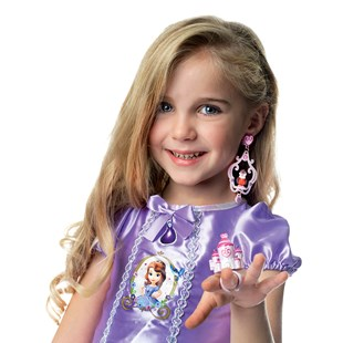 Sofia the First Ring and Earring Playset