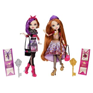 Ever After High Holly O'Hair and Poppy