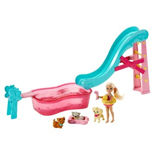 Barbie Chelsea Flippin Pup Pool