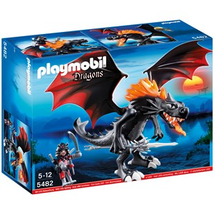 Giant Battle Dragon with LED Fire 5482
