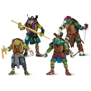 Teenage Mutant Ninja Turtles Movie 12cm Action Figure 4 Pack