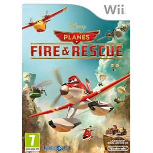 Planes: Fire & Rescue Wii