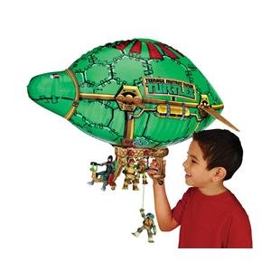 Turtles Blimp Vehicle