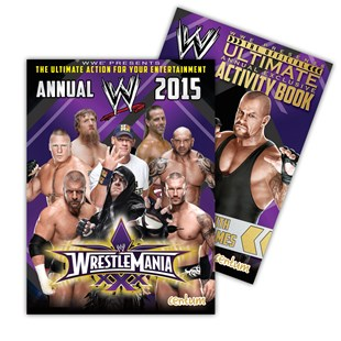 WWE Annual 2015 with Activity pack
