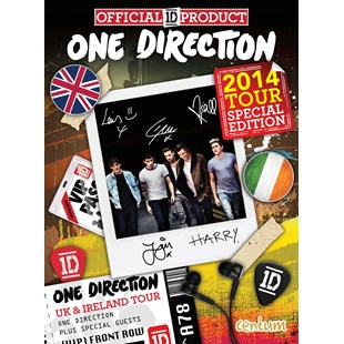 One Direction Tour Book