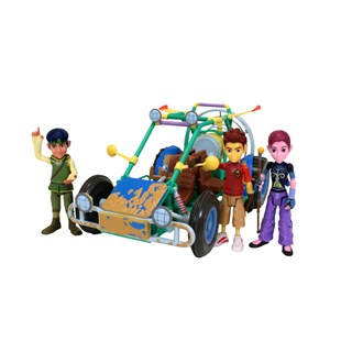 Matt Hatter Dune Buggy with Three Figures