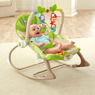Fisher-Price Rainforest™ Infant to Toddler Rocker