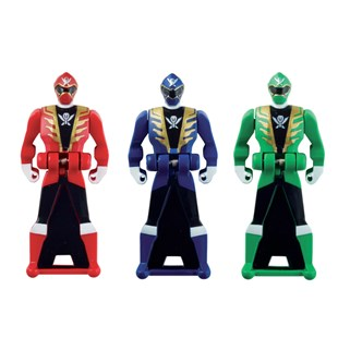 Power Rangers Super Megaforce Key Set