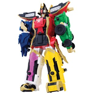 Power Rangers Super Megaforce Deluxe Legendary Megazord