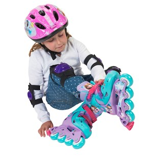 Disney Frozen Inline Skates 11.5J-1 (UK)