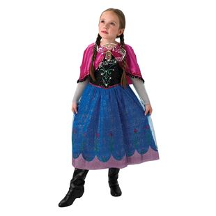 Disney Frozen Anna Deluxe Musical & Light up Age 5-6 Years