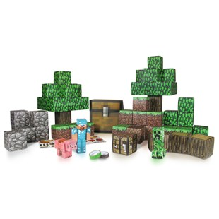 Minecraft Paper Craft Over World Deluxe Pack
