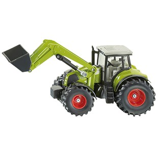 Siku 1:50 Claas Tractor with Front Loader