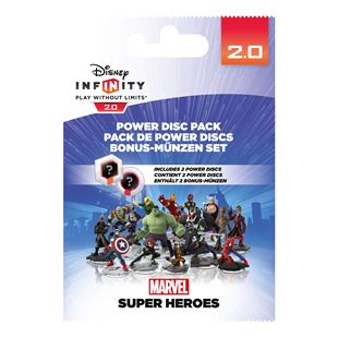Disney Infinity 2.0 Power Discs Pack Marvel