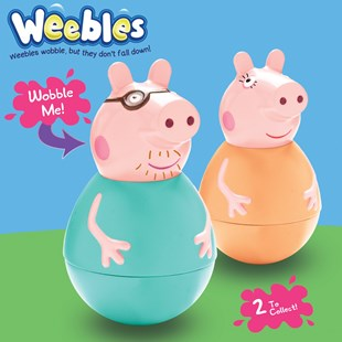 Peppa Pig Weebles Mummy and Daddy