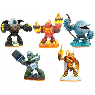 Carton of Skylander Giants Figures - Wave 5.5