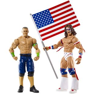 WWE Twin Pack Series 32 John Cena and Ultimate Warrior