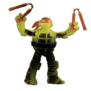 Turtles Action Figure Colour Change Mikey