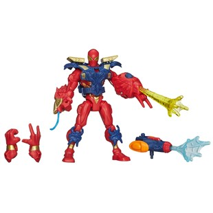 Marvel Super Hero Mashers Electronic Iron Spider Figure