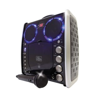 Singing Machine Portable Karaoke Black