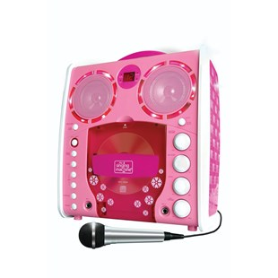 Singing Machine Portable Karaoke Pink